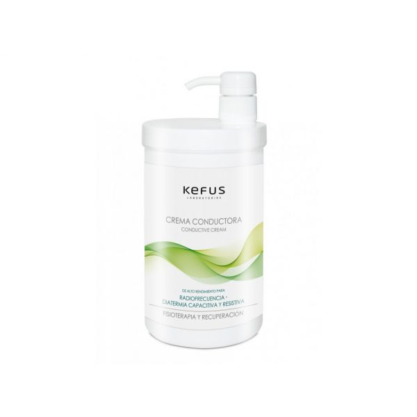 Crema conductora para fisioterapia (tecarterapia, diatermia, radiofrecuencia) Kefus